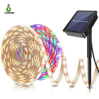 LED Strip 2835SMD 16. 4FT Flexible Solar Powered LED Strip De...
