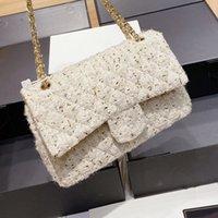 حقائب جديدة الحرة حقيبة الكتف حقيبة يد واق من وطن إمرأة الذهب الحرير كلاسيك ستايل مصممين رسول الأزياء CC Luxurys Shipping NMTVI