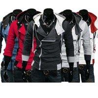Herren Creed Hoodie Jacke Kostüm Assassins Slim Cosplay Coole Mode für Los T200502