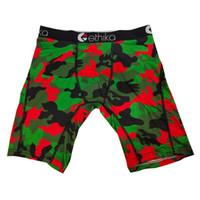 Ethika 2020 Underpants Man Camuflagem Masculino Bambu Menina Masculina Respirável Mens Underwear Boxer Boxer Shorts Para Homens