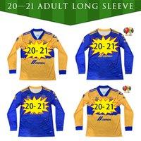 2020 2021 Tijuana Laguna Chivas Tigres Uanl Cruz Azul Futbol Forması 20 21 Atlas FC Necexa Futbol Uzun Kollu Gömlek Boyutu S-XXL