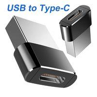 NOUVEAU TYPE C FEMME TO USB 2.0 Tapez l'adaptateur de convertisseur d'OTG de Port Male pour iPhone 12 11 PRO Max Câble