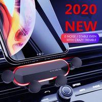 Titulares Titulares Montantes Gravity Car Holder para na montagem de clipe de ventilação de ar No magnético GPS Mobile Stand x Xs Max