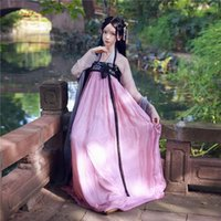 Stage Wear Women Hanfu Cinese Costume tradizionale cinese antico abito nazionale han dinastia vestiti festival festival festival abbigliamento abbigliamento DC11271