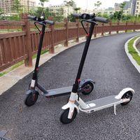 [EU NO steuer] Faltbare Smart Scooter Skateboard 45-50km starker Reichweite 36V 12.5ah HT-T4 max 10 Zoll HT-T4-Elektroroller 8,5 Zoll