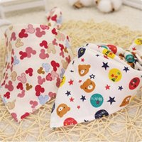 Мультфильм ребенок рот полотенце для собак одежда хлопок домашние животные галстука младенца нагрудник треугольный шарф больше цветных противоположных собак дизайн yhm724-zwl