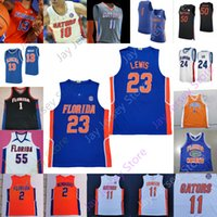 Florida Gators Statistiken Basketball Jersey NCAA College Kerry Blackschear Jr. Keyontae Johnson Noah Locke Tre Mann Scottie Lewis Andrew Nembhard