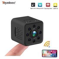 Teyeleec Full HD 1080 P Mini Kamera WIFI Kamera SQ13 SQ23 SQ11 SQ12 Gece Görüş Su Geçirmez Kabuk CMOS Sensörü Kaydedici Kamera1