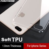 Ultra-thin 1mm Soft TPU Clear Phone Cases For iphone7 8 Plus Case Shockproof Silicone Back Cover iphone SE2020