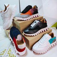 Sapatos casuais Vermelho Sapatos Loubishark Liso Couro Estilista Sneakers Homens Mulheres Donna Tiketa Slip-on Corredores Sneakers com Pontos Krystal