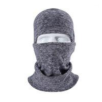 Máscaras de gorras de ciclismo ./winter cuello de cuello bandana bufanda de tubo espeso tubo medio cara scarft deportes skiing skiing senderismo snowboard // 1