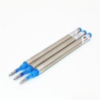 Commercio all'ingrosso-3pcs Jinhao Blue Spiral Ink Refill Rollerball Pen Refill NIB M JLLRDR WarmSlove