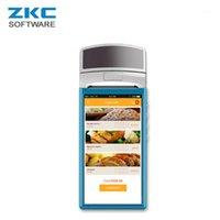 프린터 ZKC5501 GPRS WCDMA 와이파이 안드로이드 태블릿 무선 모바일 휴대용 전자 터치 스크린 금전 등록기 스캐너 NFC1