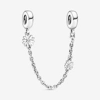 Branelli da giardino primavera margherita fiore catena di sicurezza charms fit originale braccialetti europei donne gioielli fai da te