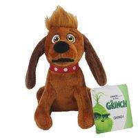 Высокое качество 100% хлопок 32см Гринч Столс Рождественские плюшевые игрушечные животные для детей праздник подарки оптом