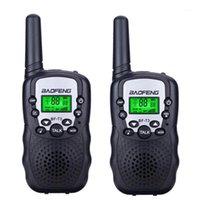 2 قطع baofeng bf-t3 pmr446 wide talkie أفضل هدية للأطفال راديو يده t3 مصغرة اللاسلكية اتجاهين راديو الاطفال لعبة ووكي toki1