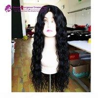 300 Dichte Perücke Glueless Full Spitze Menschenhaarperücken für Schwarze Frauen Brasilianische Haar Wasserwelle Lace Front Perücke
