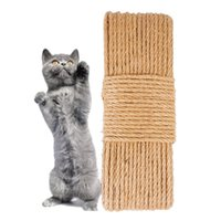 Sisal Rope Cat Tree DIY Scratching Post Toy Cat Climbing Frame Replacement Rope Desk Legs Binding Rope for Cat Sharpen Claw JK2012PH