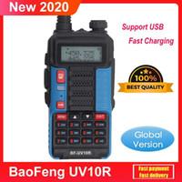 Walkie Talkie Baofeng 30km UV10R 128 канал VHF UHF двойной полос 2-х способов CB ветчины радио УФ-10р лучше, чем ультрафиолетовый UV 5R UV-821