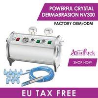 Imposto da UE Livre 2n1 Cristal Diamante Microdermoabrasion Dermaabrasão Diamante Descascando Pele Rejuvenescimento Rujuvenescência Remoção Máquina de Beleza NV300