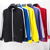 2020 Erkek Bayan Tasarımcılar Giyim Eşofman Tişörtü Takım Elbise Erkekler S Parça Ter Suit Coats Adam Giyim Ceketler Ceket Hoodie Spor Giyim