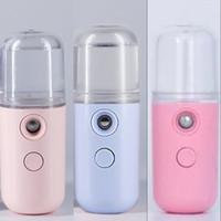 Nano Spray Face Face Dispositivi di vapore Nanometro Piccolo Lovely Acqua Strumento di approvvigionamento idrico Umidificatore di trucco USB Multi colore 5 5xy G2
