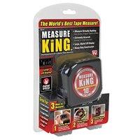 شريط قياس أسود 3 في 1 قياس الشريط الملك لفة الحبل الوضع الليزر انخفاض الشحن بالجملة T200602
