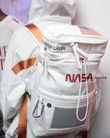Heron Schoolbag 18SS NASA CO BRANDED PRESTON حقيبة الظهر
