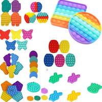 Formes multi-formes push bulle sensoriel jouet 2021 enfants drôle anti-stress fidget jouets SQUESEZY SQUISHY Stress Stress Reliever cadeaux H12101