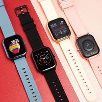 ID P8 Smart Watch Мужчины Часы Женщины IP67 Водонепроницаемый Фитнес Трекер Спортивные Усадливые Усилители Спорт Смарт-Часы Для Amazfit GTS Xiaomi