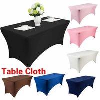 Cocktail High Stretch Wedding Hotel Birthday Table Cover Tavolo a buffet Set da tavolo Set Tovaglia Decorazione1