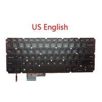 Laptop Backlit US SW Teclado para XPS 14 L421X 15 L521X TI SP SP LA UK JP Inglés Swiss Swiss Spanish Brasilian America América Latina1