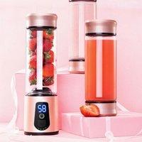 جديد 6 شفرات المحمولة خلاط السفر usb عصارة كهربائية كوب آلة المطبخ الكهربائية الفاكهة الخضار عصير خلاط 1