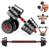 الرئيسية / الصالة الرياضية 30 كيلوجرام dumbbell مجموعة اللياقة البدنية ذات الرأسين ممارسة التدريب dumbell / الحديد، قابل للتعديل اليد الرجال النساء لرفع الأثقال ترامن
