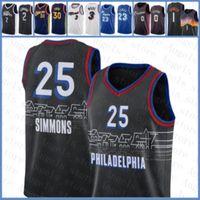 2020 2021 Nova Jersey Basquete Ben 25 Simmons Filadélfia76er.Jersey Giannis 34 Antetokounmpo Nikola Jamal 27 Murray 15 Jokic