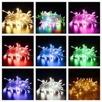 1 M 2 M 3 M Peri Dize Işıkları LED Dizeleri Renkli Açık Kapalı Lambası Zincirleri Parti Düğün Festivali Dekorasyon Led Rave Oyuncaklar E121607