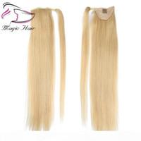 Cabelo Humano Evermagic Cabelo Humano Remy Hetereno Penteado Europeu Penteado 50g 100% Natural Cabelo Clipe em Extensões