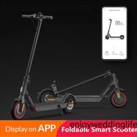 EU-Aktie Kein Steuer-App-Steuerung Falten Elektrische Roller 8,5-Zoll-Zwei-Rad-Elektror Bike-Roller für das elektrische Fahrrad-Mankeel MK083