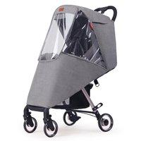 Kinderwagen Teile Zubehör Rain Cover Universal Clear Upgrade für Kleinkinder Regenschirm Sonnenblende Schatten Baldachin Babywagen