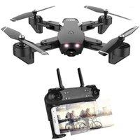 Drones RC Drone Flow óptico 1080P HD DUAL Cámara Tiempo en tiempo real Video Quadcopter Posicionamiento de aviones RTF Juguetes Niño 20 Mins1