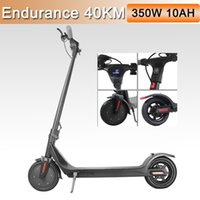 EU STOCK Electric Scooters Adults 350W 36V Foldable Wheels Scooter Solid Skateboard Mini LED Display Power MK042
