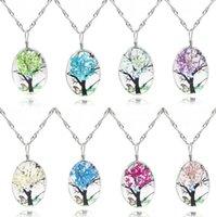 Patrones de joyería hechos a mano Collar de cristal Murano Árbol Colgante Joyería Mariposa Collar de mariposa Cabochon Colgante Cristal Mariposa Joyería