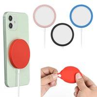 Yeni Manyetik Şarj Silikon Koruyucu Kılıf Iphone12 Kablosuz Şarj Koruyucu Kapak DHL Ücretsiz Nakliye için Uygun