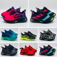 Max 720 2019 nuove scarpe da corsa Northern Lights 72c bambino Sea Forest Desert 720 Sneakers firmate per bambini Scarpe da ginnastica rosa Pink Sea Sunrise