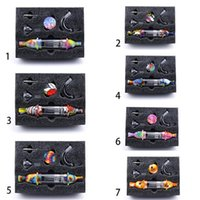 실리콘 컬렉터 DAB 짚 흡연 유리 부착 봉에 액세서리 커넥터 실리콘 컨테이너 DAB 도구 키트 DHL