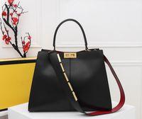 2020 Neue Frauen Designer Hohe Qualität Handtasche Berühmte Handtasche Dame Rucksack Rindsleder Schultertasche Kostenloser Versand Größe 43cm