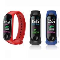 M3 Smart Band Top Armband Fitness Tracker Sport Armband Passierer Herzfrequenz Blutdruck Wasserdichte Monitor Herzfrequenz Smart Watch