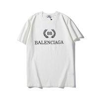 20ss الفاخرة الأوروبية قصيرة الأكمام الطباعة شعار t-shirt جودة عالية زوجين المرأة رجل مصمم الأزياء قمصان hfwptx387