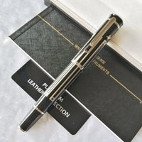 Pure Perle für großartige Schriftsteller Thomas Mann Luxus schreibt reibungslos Rollerball Pen + Geschenk Nachfüll + Plüschbeutel