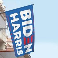 2021 ABD Seçim Bayrakları Biden Harris Başkanı Geçit Bader Kampanya 150 * 90 cm Afiş Mavi Dikdörtgen Polyester Bayrak Yeni Varış 10Wg M2